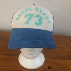 NWOT BILLABONG REBEL GYPSY TRUCKER HAT 💙🧢